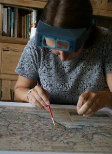 Paper conservation, paper conservator, restorer, fine art