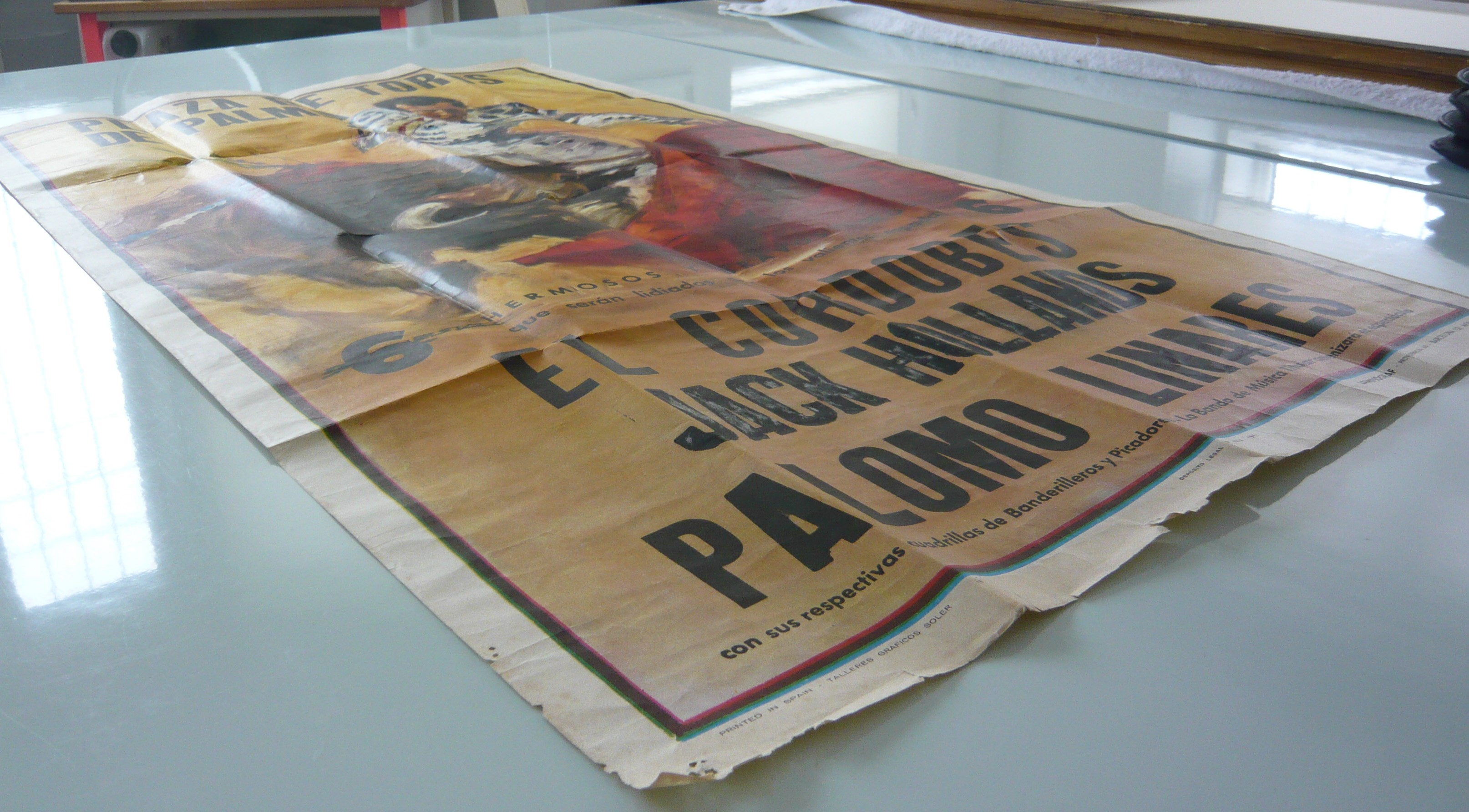 Conserving a Poster